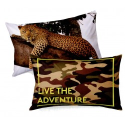 Pillowcase Bassetti Imagine Adventure Leopard