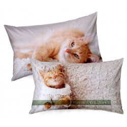 Pillowcase Bassetti Imagine Flock Cat Cuddle Me