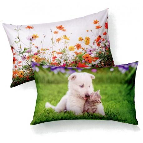 Pillowcases Bassetti Imagine Smacks Kisses V1-2868