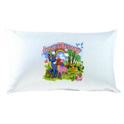 Pillowcase Bassetti Love Therapy Fantasy Rainbow
