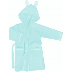 Bathrobe Bassetti Imagine Little Baloon Azure With Profiles
