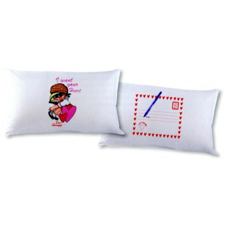 Pillowcases Bassetti Love Therapy I Want Your Heart V1