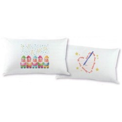 Pillowcase Bassetti Love Therapy Fantafedera Gnomes Heart