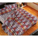 Complete Duvet Cover Set Bassetti Copripiumone Patchy With Perfetto