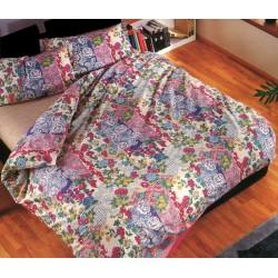 Complete Duvet Cover Set Bassetti Copripiumone® Orangerie V5
