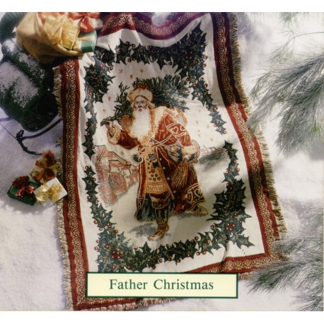 Throw Bassetti Father Christmas