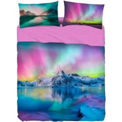 Complete Sheet Set Bassetti Imagine Aurora Borealis Ice