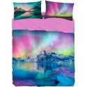 Complete Sheet Set Bassetti Imagine Aurora Borealis Ice