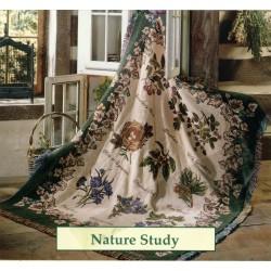 Throw Bassetti Nature Study