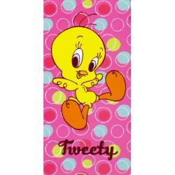 Drap De Plage Bassetti Kids Warner Bros Happy Tweety V1