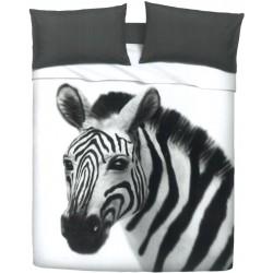 Completo Letto Copriletto Bassetti Imagine Gardone Zebra