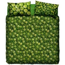 Parure Copripiumone La Natura Bassetti Mela Verde V1