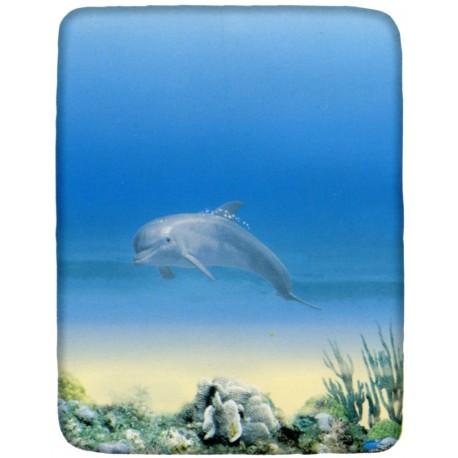 drap housse dauphin Drap Housse La Natura Bassetti Mon Dauphin Taille Une Place Et 1/2 drap housse dauphin