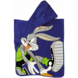 Poncho Embroidered Bugs Bunny Bassetti Kids Baby Ball V3